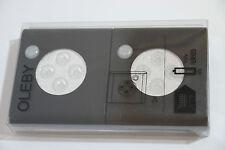 Ikea OLEBY LED Sensor Light 2pc Motion Activated for Bathroom Corridor Wardrobe