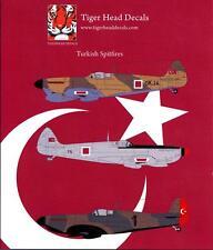 Tigerhead Decals 1/48 TURKISH SUPERMARINE SPITFIRE Fighters