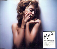MAXI CD 3T + 1 VIDEO KYLIE MINOGUE LOVE AT FIRST SIGHT ENHANCED CD 2002