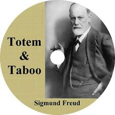Totem and Taboo, Sigmund Freud -Lives of Savages/Neurotics Audiobook 8 Audio CDs