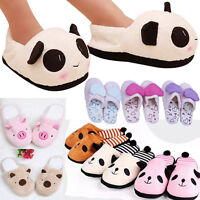 Home Indoor Winter Warm Slippers Plush Antiskid Women Men Female Soft Slippers