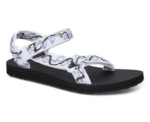 Teva Women's Original Universal Sandals - Ziggy WhiteAI600