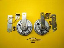 Datsun 70-78 240Z 260Z 280Z Horn Set Pair Hi Low Horns Stock Replacement 335 336