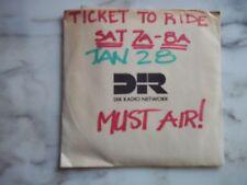 The Beatles - TICKET TO RIDE - RADIO SHOW - 1989  Rare EX