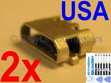 2x Micro USB Charging Port Sync For Amazon Kindle Fire 7 5th SV98LN Tablet USA !