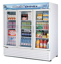 Turbo Air 72 CuFt Commercial Cooler 3 Doors TGM-72RS