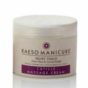 KAESO BEAUTY VELVET TOUCH CUTICLE MASSAGE CREAM - 95ml or 450ml