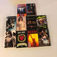 Lot Of 10 1990s 90s Cassettes Bon Jovi Guns N Roses Bob Segar Poison Etc #3