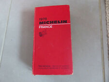 Guide Michelin France 1976 - Bon état