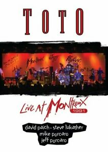 Toto: Live at Montreux 1991 (2 Disc, DVD + CD) DVD NEW