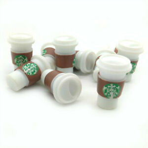 10Pcs Dollhouse New To Go Coffee Cups 1:6 Scale Model Miniature Accessories