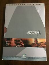 STAR TREK II LA IRA DE KHAN - DIRECTOR´S EDITION 2 DVD - 112 MIN - BUEN ESTADO
