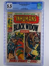 Amazing Adventures #1 CGC 5.5  1970 Inhumans & Black Widow
