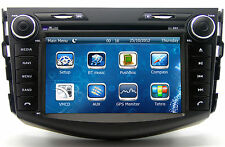 Indash Stereo Touch Screen Car Radio DVD Player GPS Navigation For Toyota RAV4