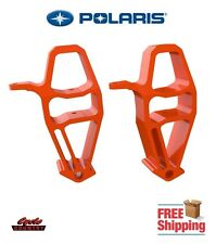 POLARIS AXYS RUSH SWITCHBACK SNOWMOBILE SPINDLES (PAIR) STEERING KNUCKLES ORANGE