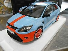 FORD Focus RS500 RS 500 2010 Le Mans Classic Gulf bl MKIV Tribut Minichamps 1:18