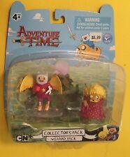 Adventure Time FINN & JAKE JAZZWARE WIZARD PACK 2 action figures Cartoon Network