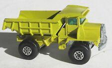 Lesney Matchbox Dump Truck Pea Green Olive #28 Loose c8- Vintage