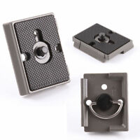 DSLR Camera Tripod Quick Release QR Plate for Manfrotto 200PL-14 496 488RC2 3160
