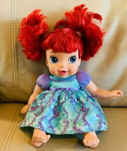 Tollytots The Little Mermaid My First Disney Princess Ariel Baby Doll 12""