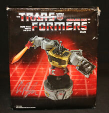 Transformers Grimlock Bust Statue 282/1000 -Mint In Box -Signed by Ed Repka