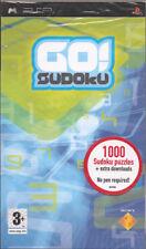 Go! Sudoku (PSP) New & Factory Sealed