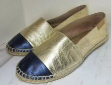 91e40ed6b75 Mint and Rose Women s Gold Skorpios Espadrilles made in Spain size ...