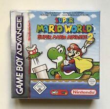 Super Mario World (Nintendo Game Boy Advance) Red-Strip Factory Sealed PAL