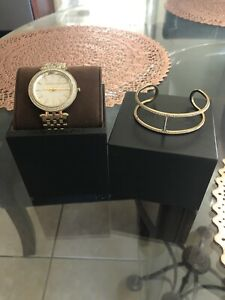 Michael Kors Darci Gold Watch With Matching Bracelet