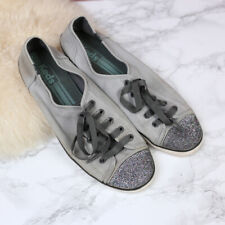 Keds Sparkly Toe Gray Classic Sneakers Women's 9