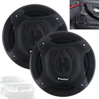 1 Pair 6.5 Inch 400W Car Speakers Auto Audio Music Stereo Speaker Systems Black