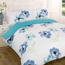 Parures et housses de couette bleu à motif Floral pour Housse de couette