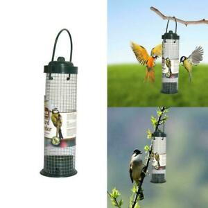 Hanging Plastic Green Safe Nontoxic Bird Feeder Outdoor Garden Decoration F0X5