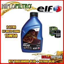 KIT TAGLIANDO 2LT OLIO ELF MOTO 4 ROAD 15W50 PIAGGIO 300 Vespa GTS Touring i.e.