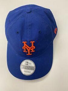 New Era 9TWENTY New York METS Core Classic Adjustable Cap Dad Hat Leather Strap