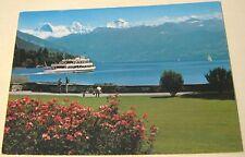 Switzerland Thun Schadaupark Eiger Monch und Jungfrau - posted 1984