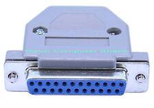 """Db23f 23 modo """"D"""" tipo di connettore femmina & COVER COMMODORE AMIGA RGB video PORT"""