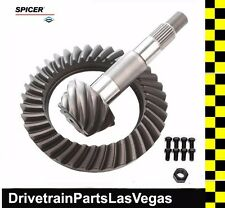 OEM Dana Spicer Ring and Pinion Gear Set Dana 35 M35 4.56 Ratio Mini Kit OEM