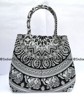 Indian Handbag Tote Bag Mandala Multi Shoulder Cotton Women Satchel Purse Lady