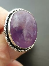 millionaire gorgeous stunning high-class amethyst ladies ring size 7. us