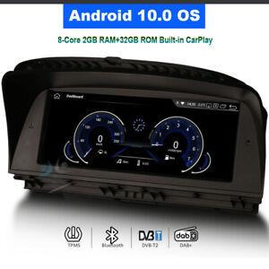 """10.25"""" Android 10 Car Stereo Radio BT GPS Navi For BMW 7er E65 E66 CCC 740i 750i"""