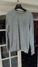 SUPERDRY Expedition men Grey Sweat shirt Top Size XL
