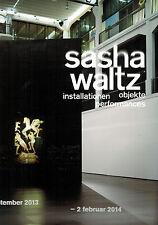 Weibel, sasha waltz: installations objets performances, zkm 2013/14, DT./Engl.
