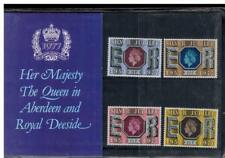 GB 1977 SILVER JUBILEE ABERDEEN & ROYAL DEESIDE PRESENTATION PACK PRIVATE EDITIO