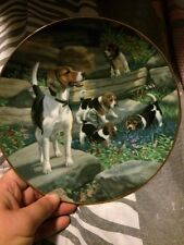 Classic Sporting Dogs - Collector Plate - 1989 - Beagles