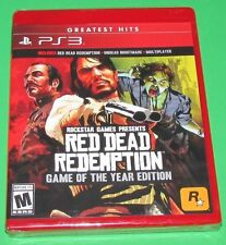 Red Dead Redemption Game of the Year Edition Playstation 3 PS3 Factory Sealed