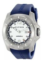 Tommy Hilfiger Windsurf White Dial Blue Band  Men's Sports Watch 1791113 $125
