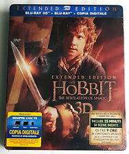 LO HOBBIT: The Desolation Of Smaug TIN BOX (5 BLU-RAY 3D + 2D) EXTENDED EDITION
