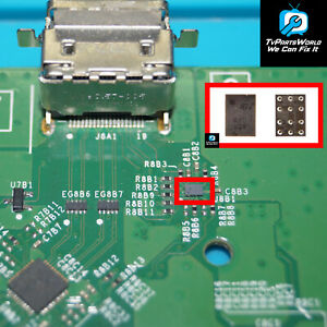 Xbox One S HDMI Booster IC Chip ESD PXD for Microsoft Xbox One S U8B1 HDMI IC