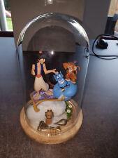 Extremely Rare! Walt Disney Aladdin in Cloche Diorama Figurine Statue